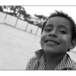 a smiling boy